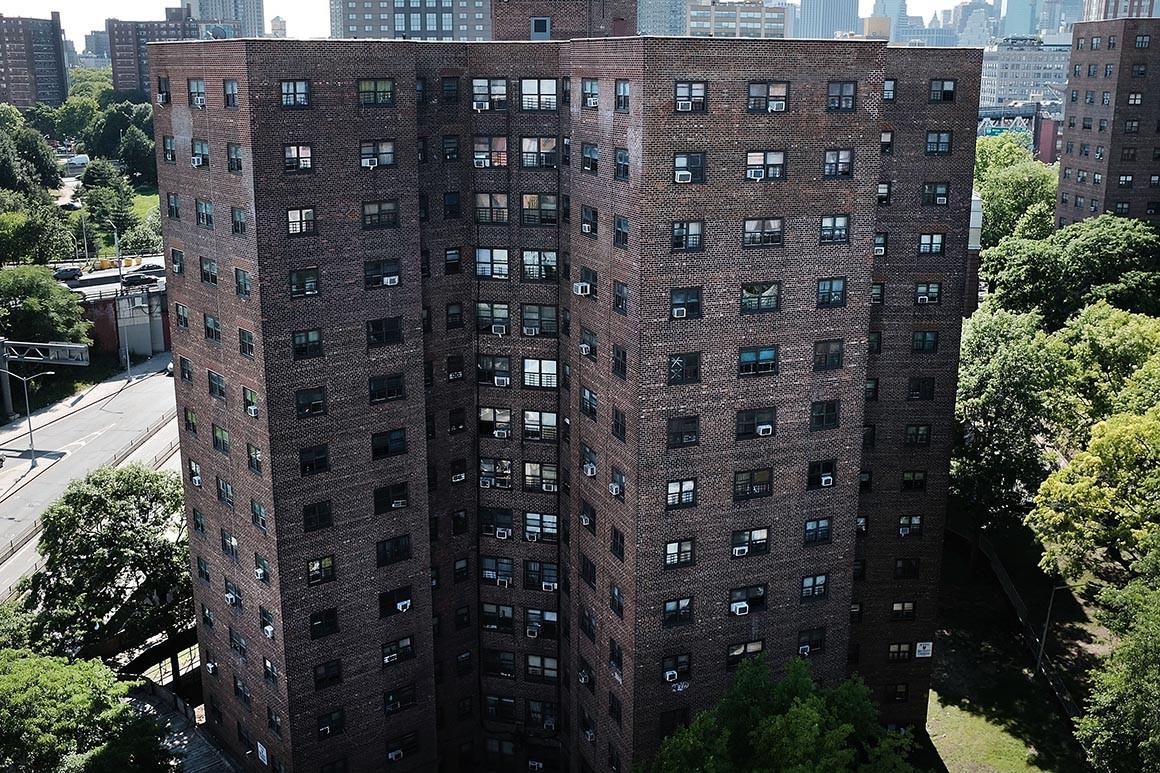 Image of public housing in Brooklyn
