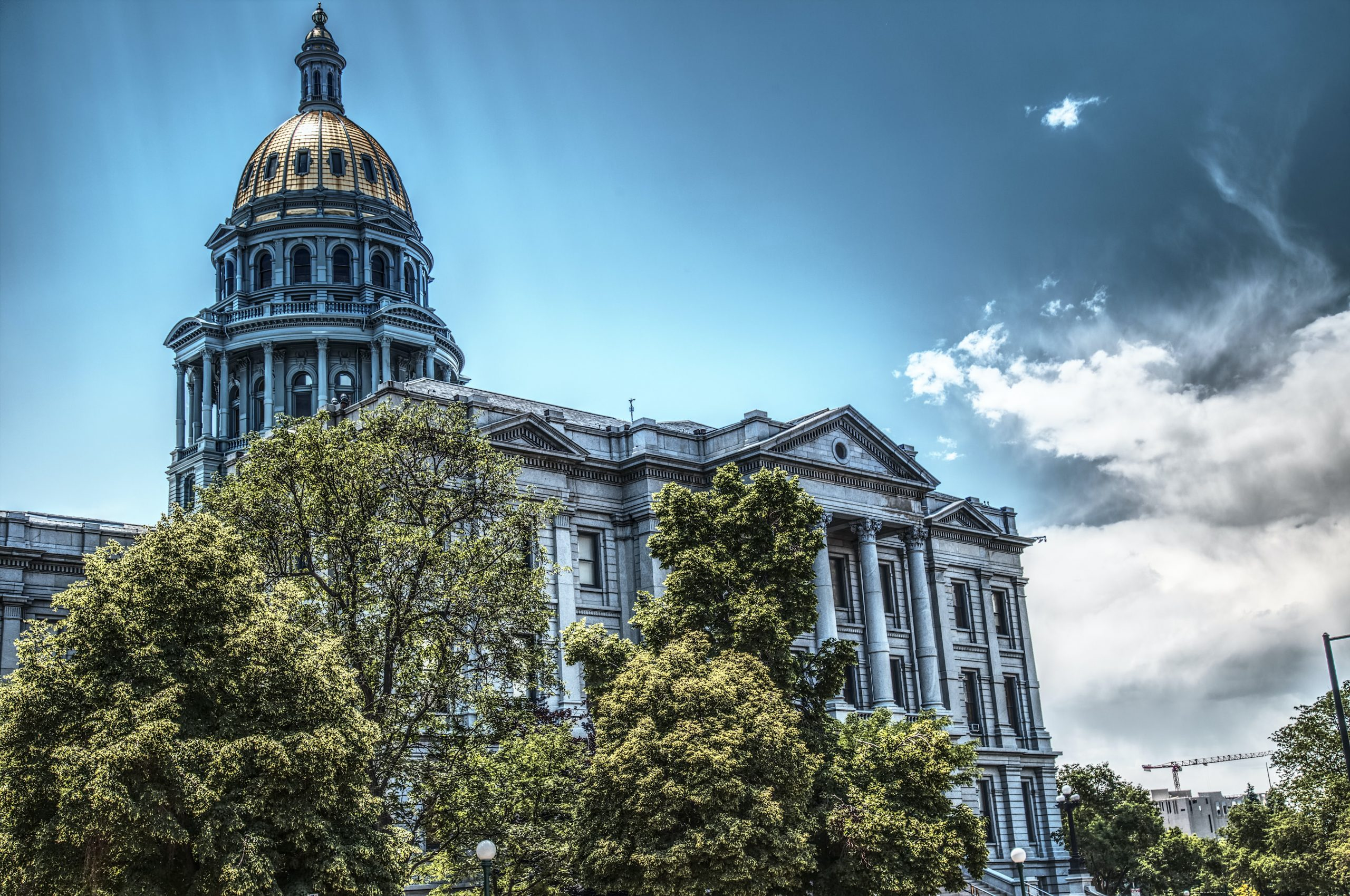 The Denver State Capitol Building