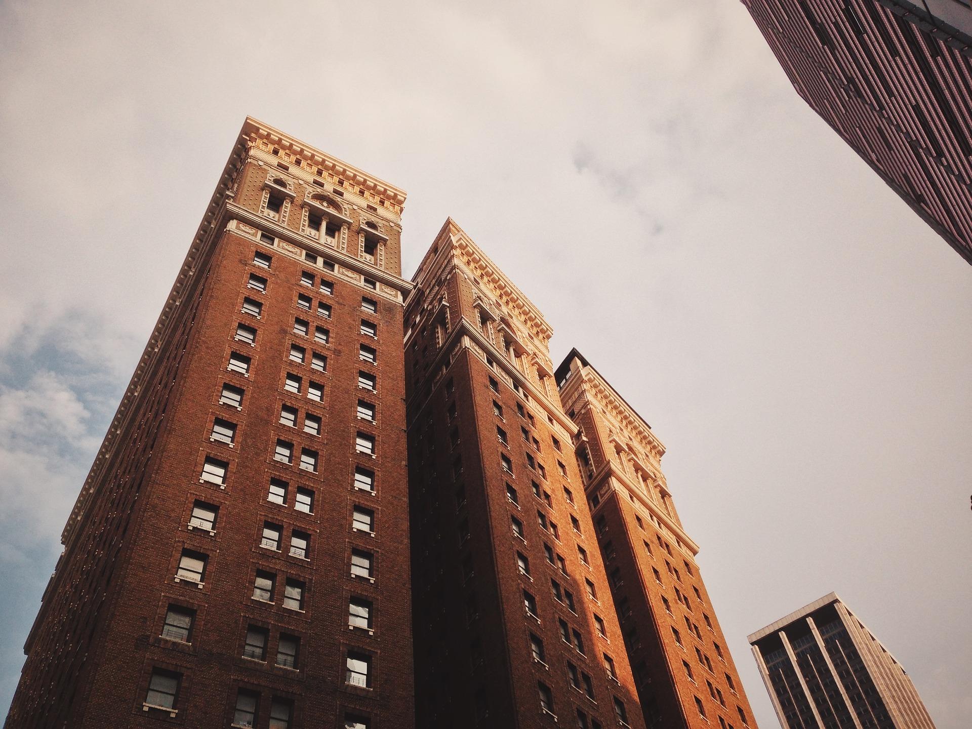 Three apartment complexes
