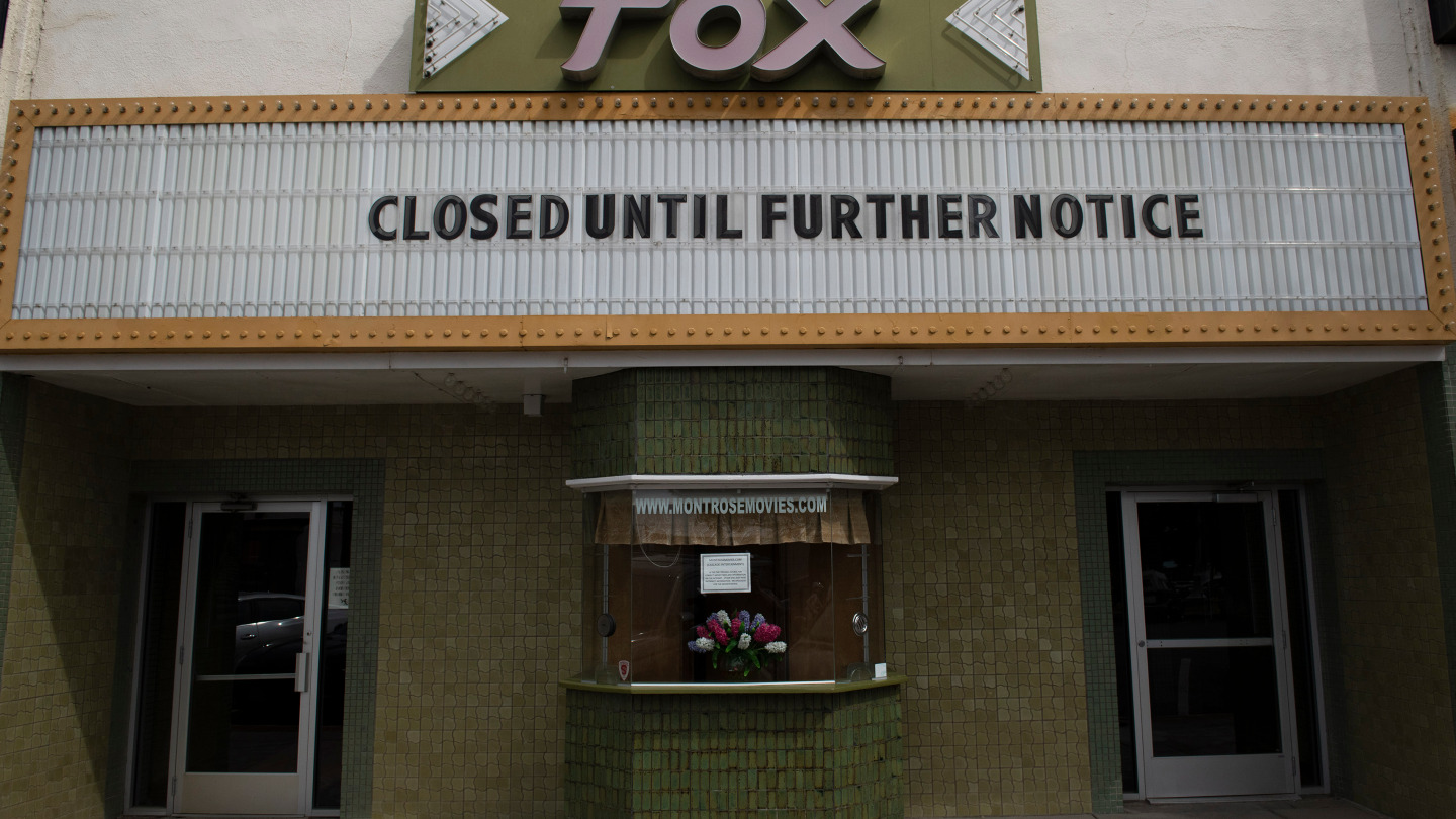 Image of the Fox Theater in Montrose, Colorado